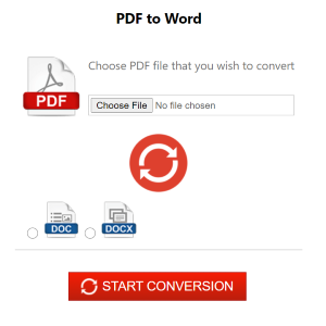 free file converter from pdf to word